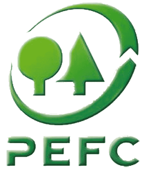 The PEFC 'green trees' logo is your assurance that wood-based products – from timber to furniture, packaging to paper – come from sustainable sources